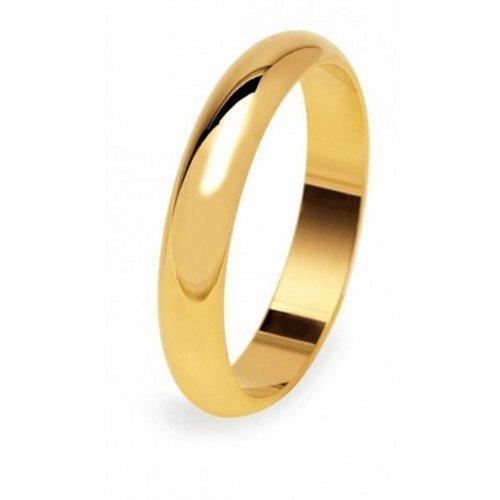 Anello Oro 18Kt Fede Nuziale - Matrimoniale Modello Mantovana