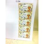 30 pezzi, Bigliettini x Bomboniera con stampe personalizzate, vari modelli. (PRIMA COMUNIONE)