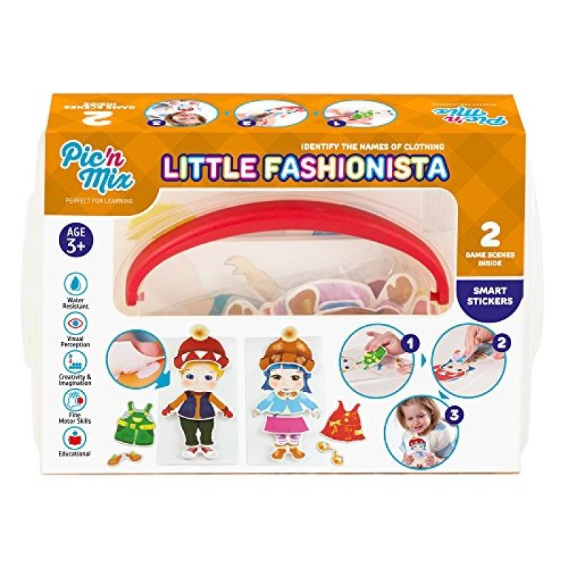 97f37e9e37 Picnmix Piccolo stilista Vestire i Giochi e Giocattoli Educativi per Bambini  di 3 anni a 7 anni