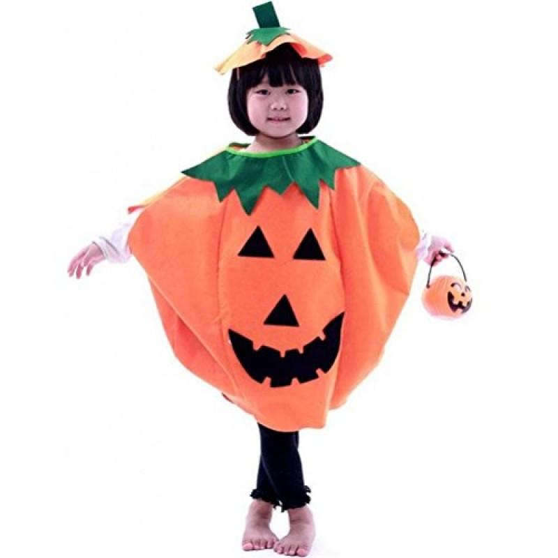 Vestiti Halloween.Pixnor Bambini Vestiti Di Halloween Costume Zucca Berretto Arancione