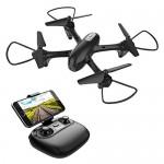 Potensic Drone Telecamera Quadricottero con Bettaria Sostituibile di 1000Mah U47 WiFi FPV Funzione Modalita Senza Testa, Attesa Altitudine, Pianifi...