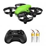 Potensic Mini Drone A20 con Due Batterie per Bambini e Principianti Quadricottero RC Drone Giocattolo Economico modalità Senza Testa con Telecomand...