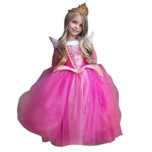 Rawdah Vestito Abito per Bambino Ragazza Bambina Principessa Natale Partito Compleanno Bambini Vestito Carnevale Bambina Abiti PrincipessaFantasia...
