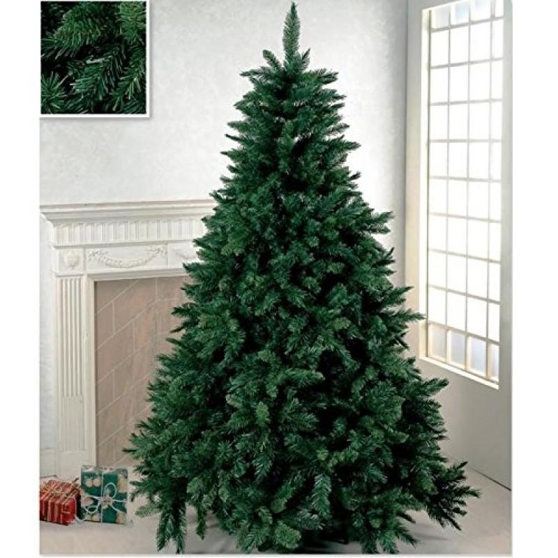 Albero Di Natale 210.Albero Di Natale Artificiale Verde Super Folto Cm 210 Realistico Mt 2 1