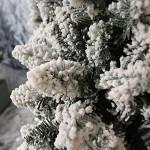 Albero di Natale Innevato cm 180 mt 1,80 Tirolese super folto realistico