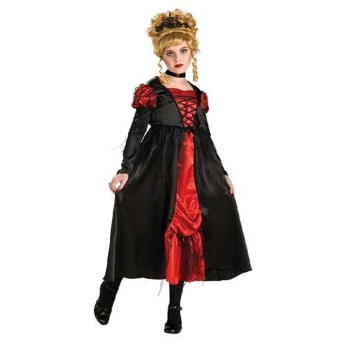 Costume Halloween / Carnevale da Graziosa Principessa Vampira - Bambina Medium