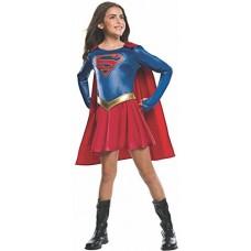 d3c3b3a549ab Rubie's - Costume ufficiale della serie televisiva Supergirl, per bambine,  taglia: M