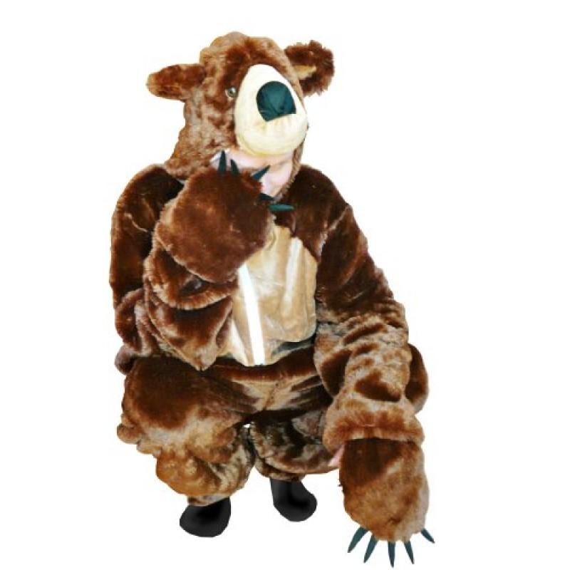 nuovo arriva negozio ufficiale bellezza F67 L Orso bruno costume orso costume da adulto orsi costumi ...