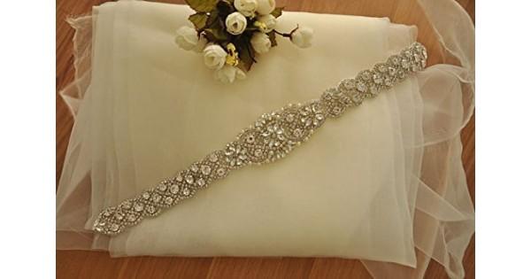 Matrimonio sash avorio wedding fascia fascia cintura abiti da