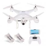 SJ R / C S20W1080P (GPS) FPV Regolabile 1080P HD Camera Wide Angle RTF Doppio GPS Posizionamento Altitude Hold Drone w / Due batterie