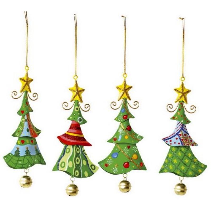 Oggetti Di Natale.Small Foot Company 5147 Oggetti Da Appendere Di Metallo Albero Di Natale