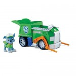 Nickelodeon, Paw Patrol - Personaggio con veicolo - Rocky e il suo camion della spazzatura