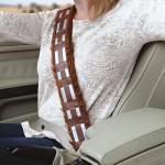 Rivestimento per cintura di sicurezza a tema Chewbecca, Star Wars