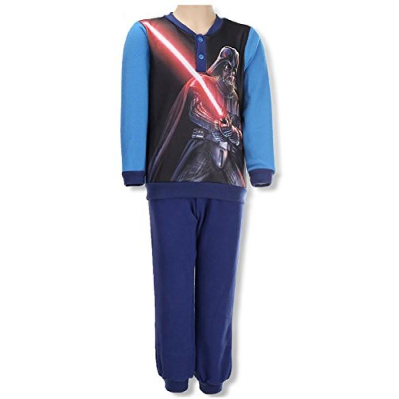 sconto volume grande a piedi scatti di Star Wars - Pigiama in Pile 2 pz - Confezionato in Scatola - Bambino -  Darth Vader - Prodotto Ufficiale 831-482 [Azzurro - 4 anni - 104 cm]