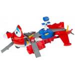 Super Wings-Jett Valigetta trasformabile Aeroporto, Colore: Baby 43976