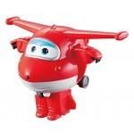 Super Wings Super Wings-EU710010-Transform-a-Bots EU710010-Transform-a-Bots Jett, Colore Rosso, YW710010