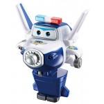 SUPER WINGS Super Wings-EU710050-Transform-a-Bots EU710050-Transform-a-Bots Paul, Colore Blue, YW710050