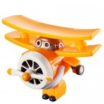 SUPER WINGS Super Wings-EU710060-Transform-a-Bots EU710060-Transform-a-Bots Grand Albert, Colore Giallo, YW710060
