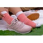 Rainbow Socks - Donna Uomo Calzini Sushi Salmone - 1 Paio - Taglia UE 36-40