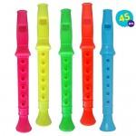45pcs Mini Flauti | Flute En Plastique Multicolore Per Bambini | Flauto Resin Recorder Pochette-Surprise Jouet Accessoires Fête Anniversaire | Educ...