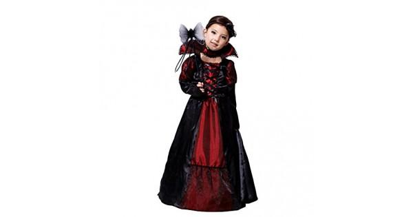 79037e600f30 Tongchou Costume da Vampira Bambina Vestito Bambina Halloween Carnevale  Taglia L