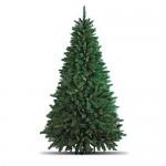 Totò Piccinni Albero di Natale Artificiale, 210 cm (1078 Rami), FOLTO di ALTISSIMA QUALITA', Effetto Realistico, Rami a Gancio, Facile Montaggio, P...
