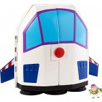Toy Story- Minis Disney Pixar Buzz Lightyear Star Adventurer, Playset Astronave 2-in-1 Trasformabile, per Bambini da 3+ Anni, GCY87