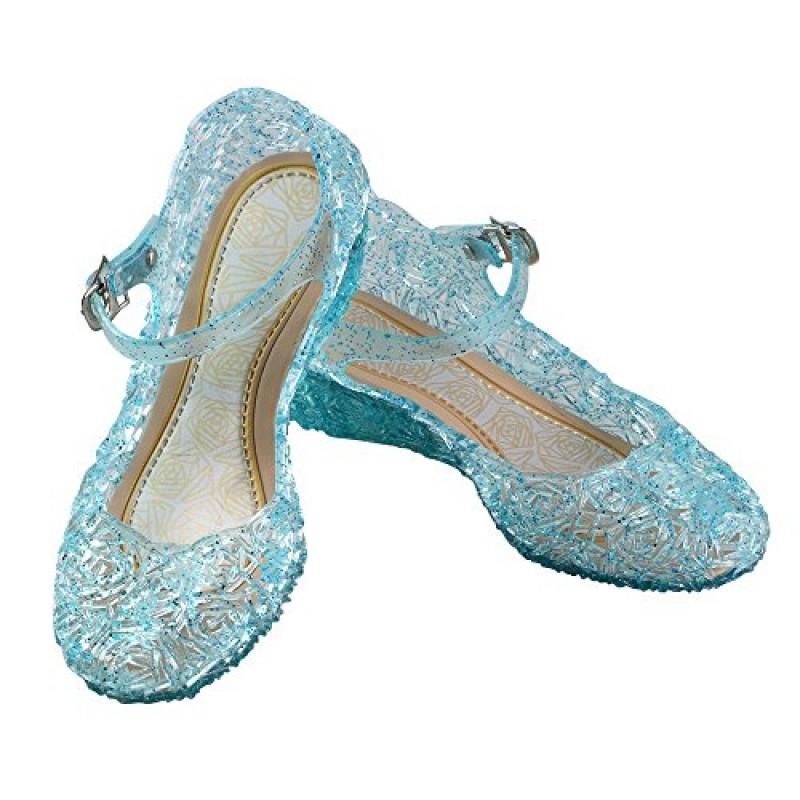super popolare 2a353 be7e7 URAQT Ragazze Scarpe da Principessa Elsa Frozen, Partito ...