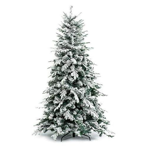 Albero di Natale Innevato Alaska 210 cm - Effetto realistico