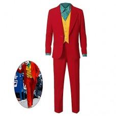Xuyingyi Costume da Joker Vestito di Halloween 2019 Film Cosplay Camicia Gilet Pantaloni Vestito Vestito Clown Vestito Operato Abbigliamento per Uo...