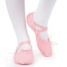 Scarpe da Ballo Classiche in Tela per Bambini e Adulti, Scarpe da Ginnastica per Ginnastica 24EU