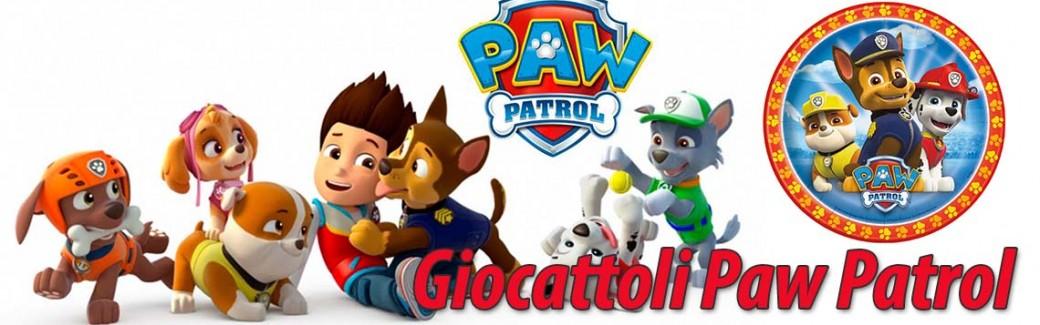 Giocattoli Paw Patrol